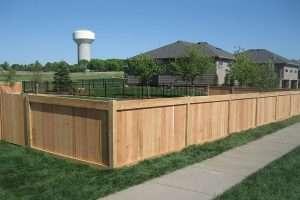 4' Flat top Panel Cedar